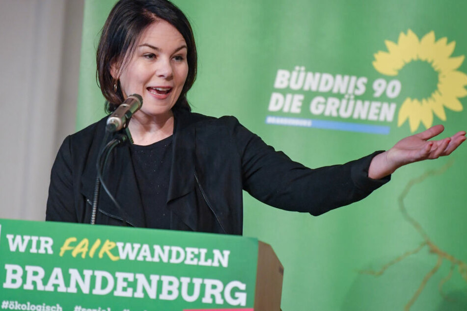 Annalena Baerbaum ist höchst erfreut über den großen Zuwachs bei den Grünen.
