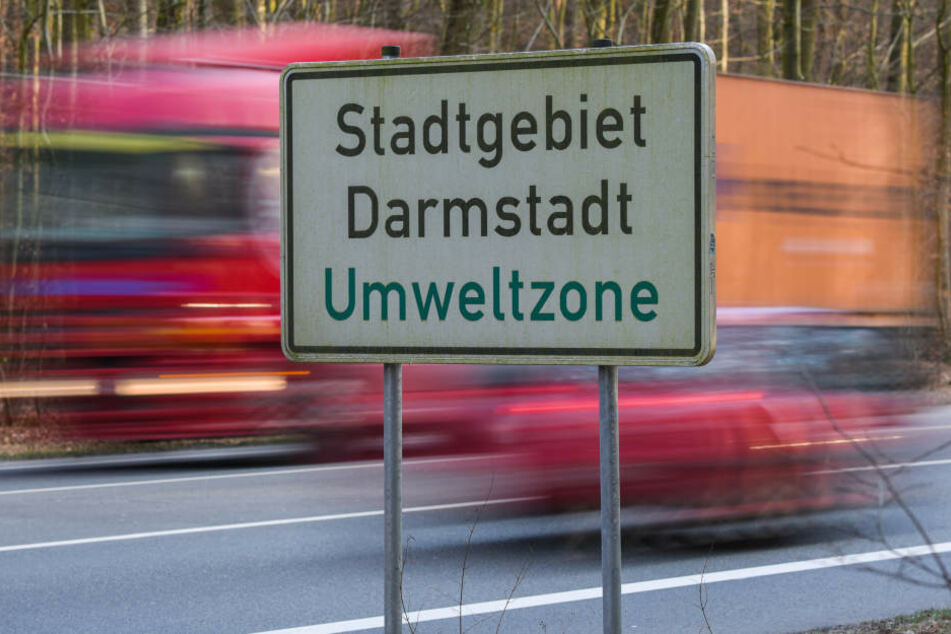 Das Darmstädter Stadtgebiet gilt offiziell als Umweltzone.