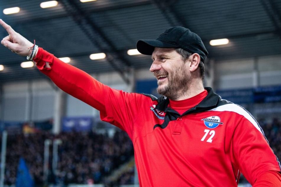 Auch beim Testspiel gegen den SV Lippstadt schickte SCP-Trainer Steffen Baumgart die richtigen Spieler auf den Platz.