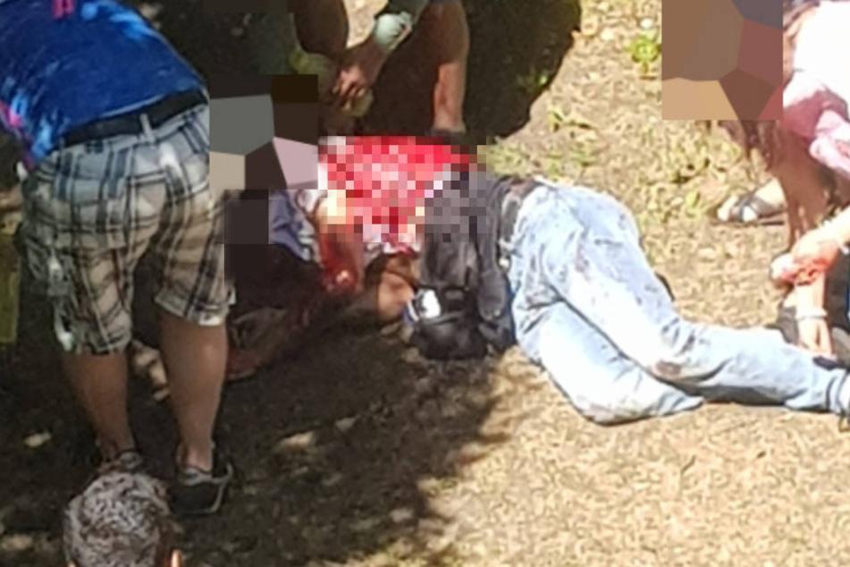 Der 21-Jährige wurde durch die Stiche lebensgefährlich verletzt.