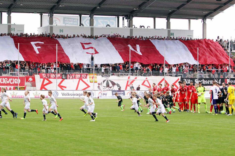 Wo sonst der FSV Zwickau zum Heimspiel lädt, sollen Dynamo Dresden und der TuS Koblenz im DFB-Pokal aufeinandertreffen.