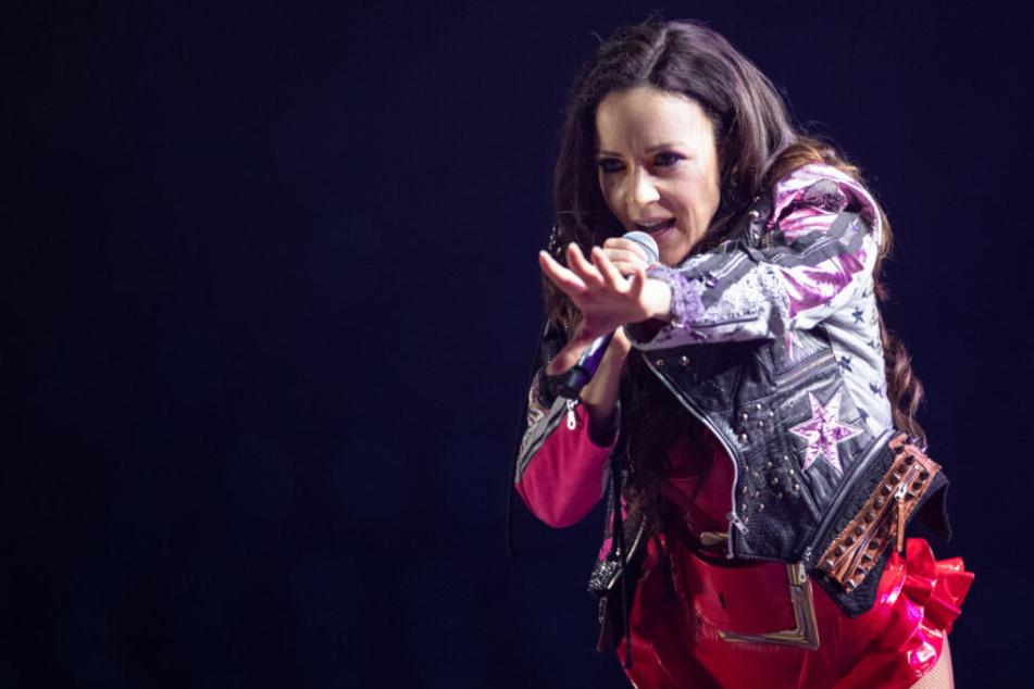 Blümchen kehrte nach fast 20-jähriger Pause auf die große Show-Bühne zurück.