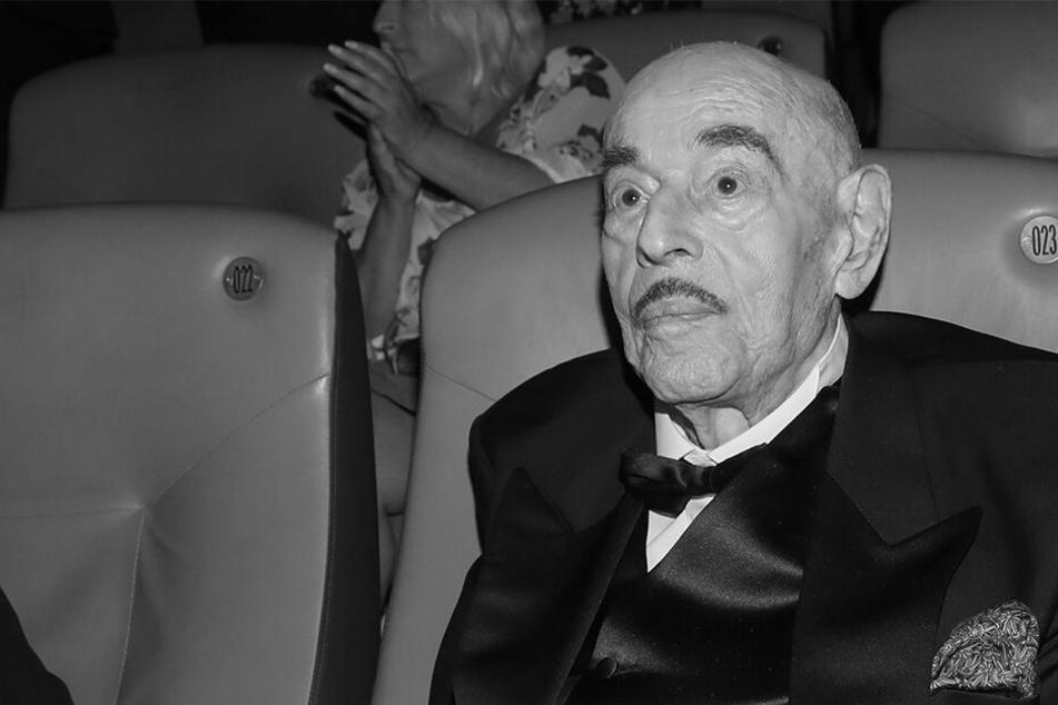 Artur Brauner bei der Feier zu seinem 100. Geburtstag.