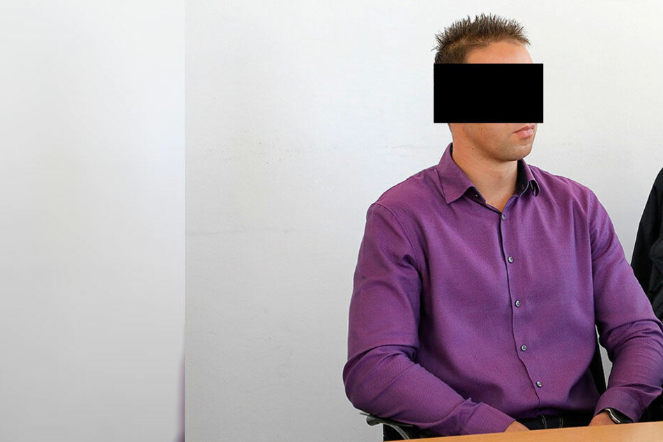 Reinhard K. (36) muss wegen fahrlässiger Tötung eine Geldstrafe bezahlen.