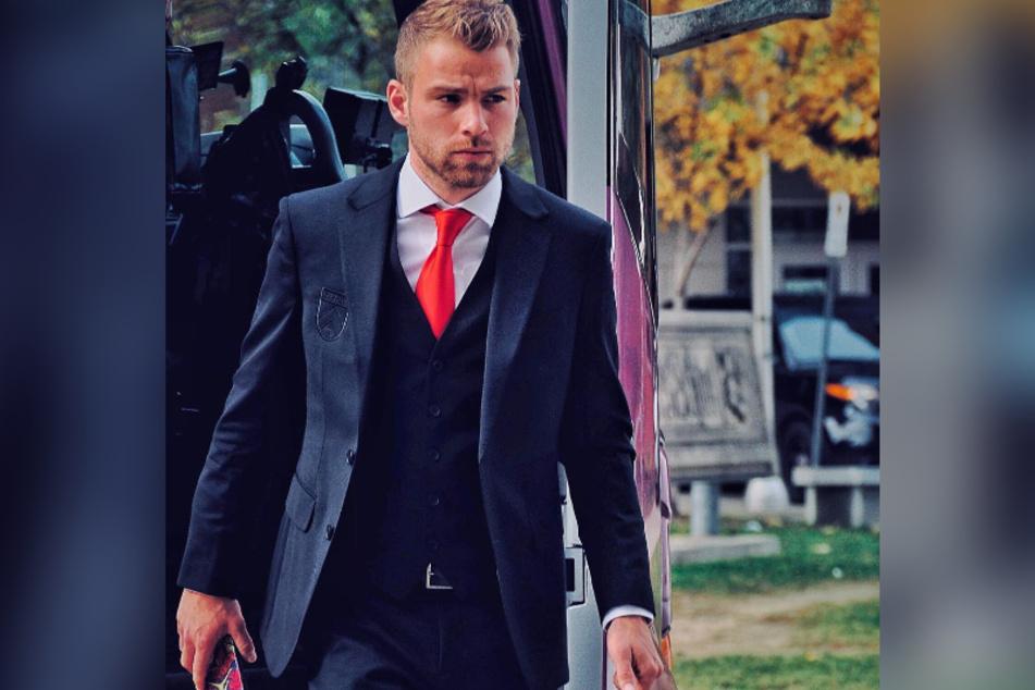 Sarahs Neuer Julian Büscher (27) kommt bei Ex Pietro gut an.
