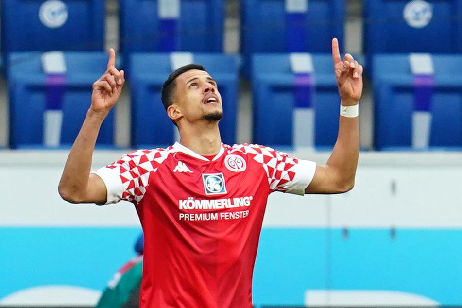 Stürmer Robert Glatzel, hier im Trikot des 1. FSV Mainz 05, soll das Interesse des Hamburger SV geweckt haben. Aktuell steht er beim englischen Zweitligisten Cardiff City unter Vertrag.