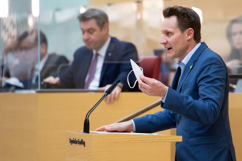 Ludwig Hartmann (42, r.), Fraktionsvorsitzender von Bündnis 90/Die Grünen.