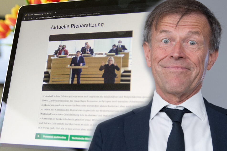"""""""Übersetzungshilfe"""" für sächselnde Politiker: Landtagsreden jetzt mit Untertiteln"""