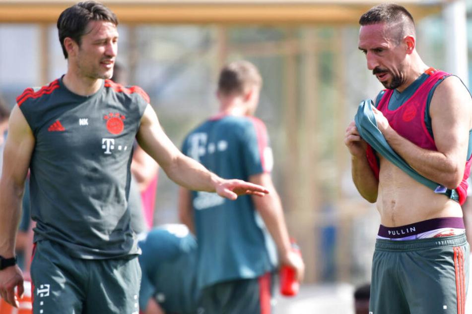 Niko Kovac (l.) und der FC Bayern München wollen Titel gewinnen. (Archivbild)