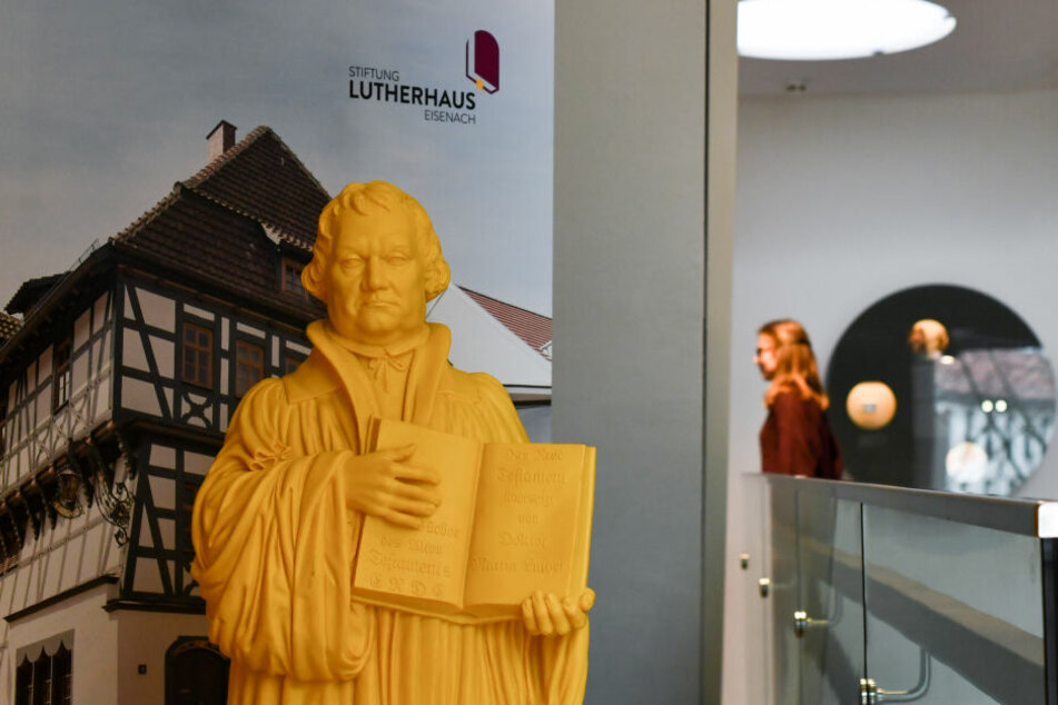 Martin Luther steht unter anderem in Eisenach im Mittelpunkt.