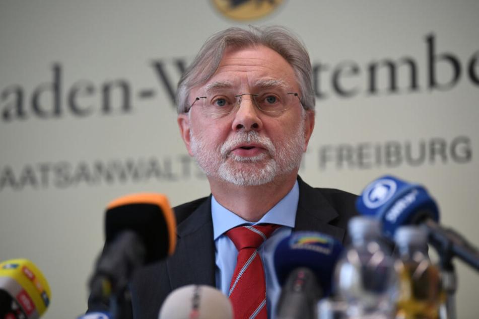 Dieter Inhofer, Leiter der Staatsanwaltschaft Freiburg.