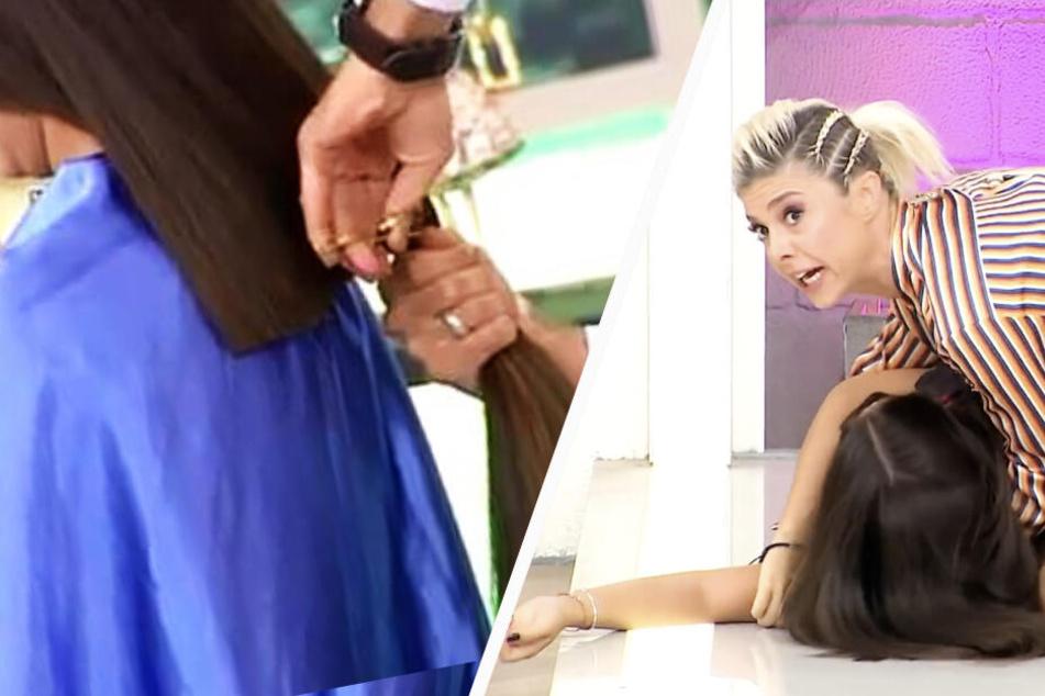 Frau bricht in TV-Show zusammen, nachdem sie ihre neue Frisur sieht