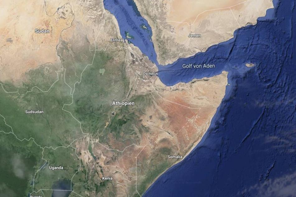Die Danakil-Wüste liegt im Norden Äthiopiens.