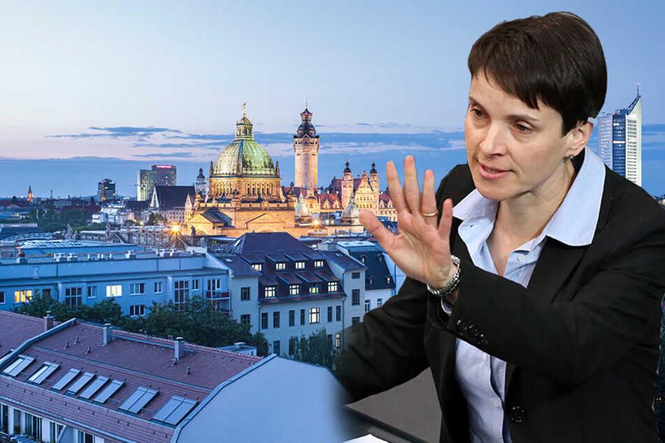 Frauke Petry kehrt Leipzig den Rücken