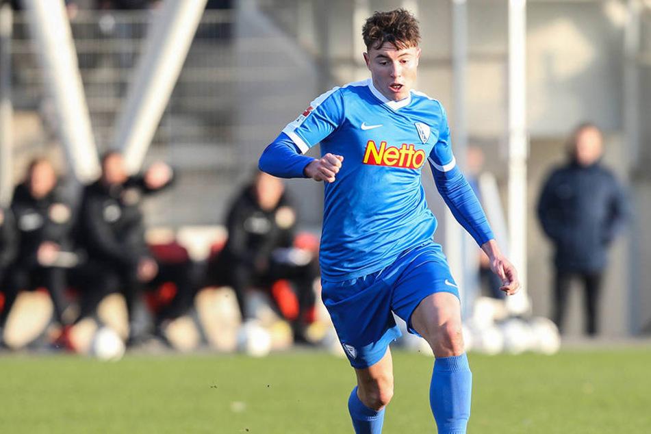 In der letzten Saison ging Nils Quaschner für den VfL Bochum auf Torejagd.