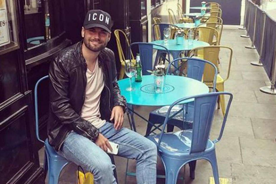 Ein Dynamo auf Reisen: Niklas Kreuzer in London.