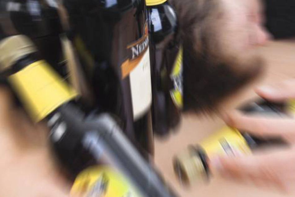 Der Mann hatte richtig Bock auf Bier und brach deswegen in eine Brauerei-Halle ein.