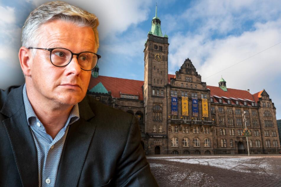 Laut Stadtsprecher Matthias Nowak (51) geht die Entwicklung der Corona-Zahlen in die richtige Richtung.