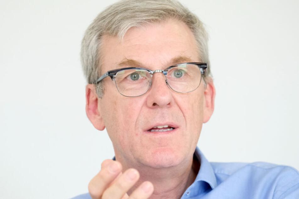 LKA-Chef Ralf Michelfelder.