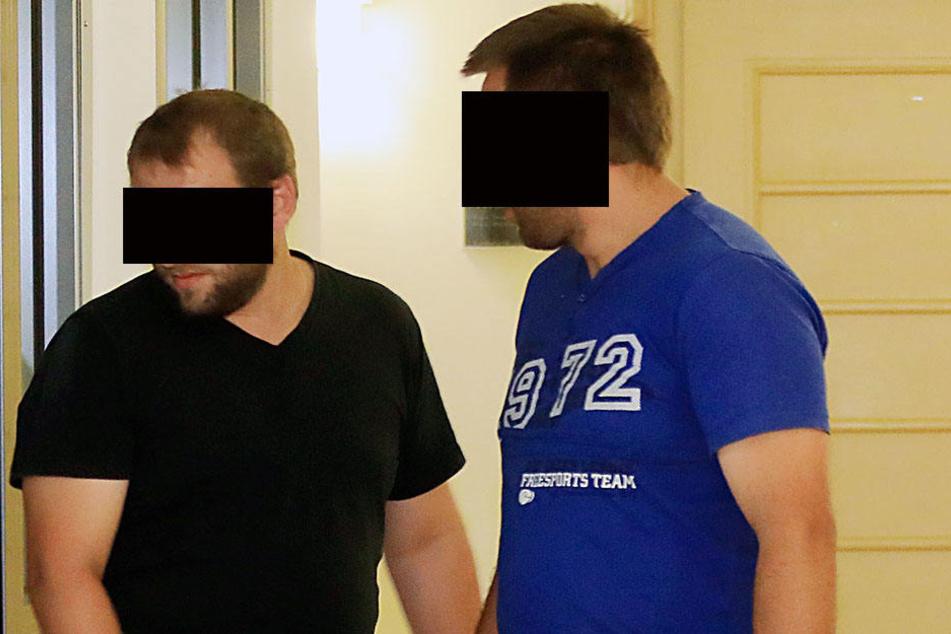 Die mutmaßlichen Brandstifter Roberto V. (28) und Raimondo V. (26) waren bei der freiwilligen Feuerwehr.