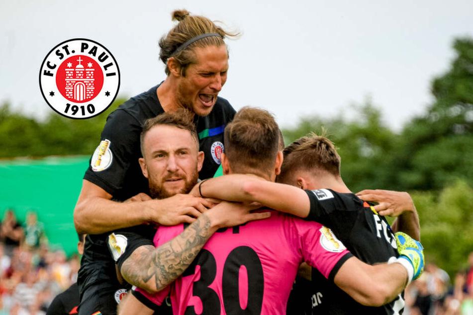 Pokalsieg des FC St. Pauli darf nicht über schlechte Leistung hinwegtäuschen!