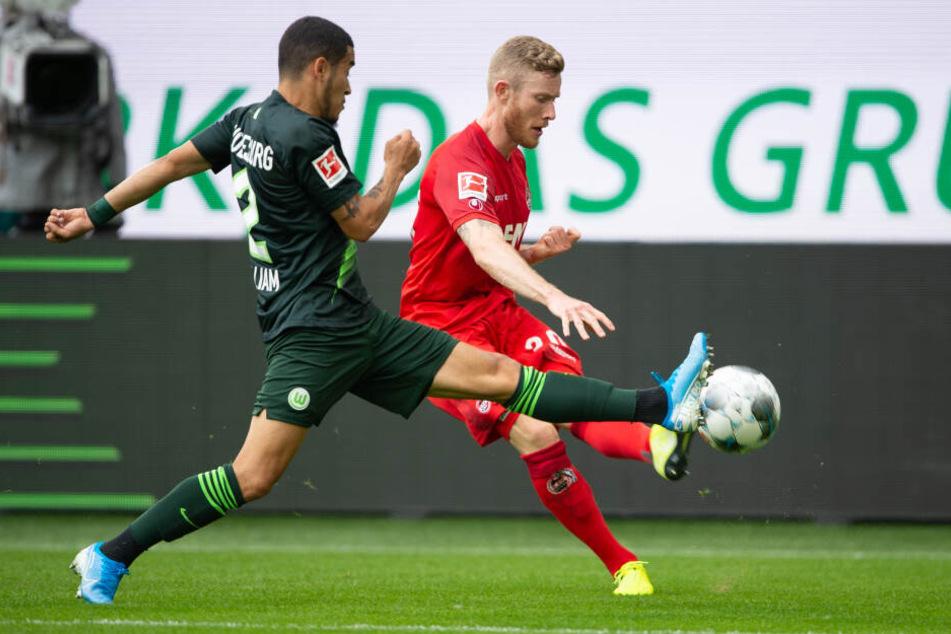 Die Kölner Offensive um Florian Kainz zeigte in Wolfsburg zu wenig Durchschlagskraft.
