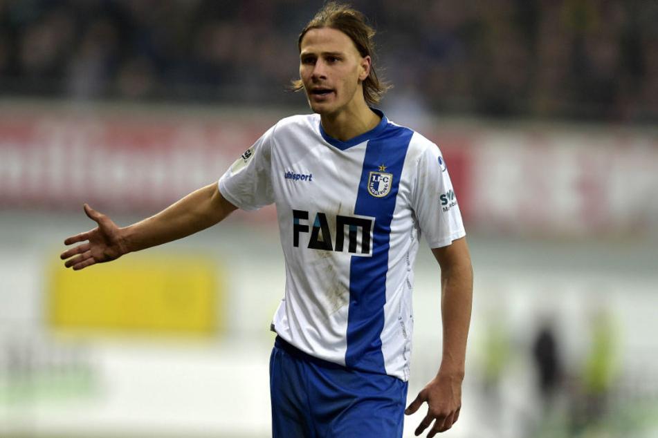 Tobias Schwede war mit dem 1. FC Magdeburg in die zweite Liga aufgestiegen.