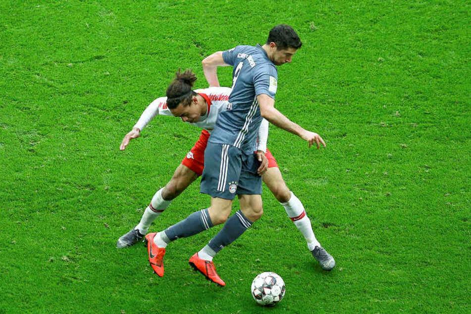 Letzten Samstag erreichte RB Leipzig ein 0:0 gegen den FC Bayern, beim Pokalfinale am 25. Mai wird es dann einen Sieger geben.