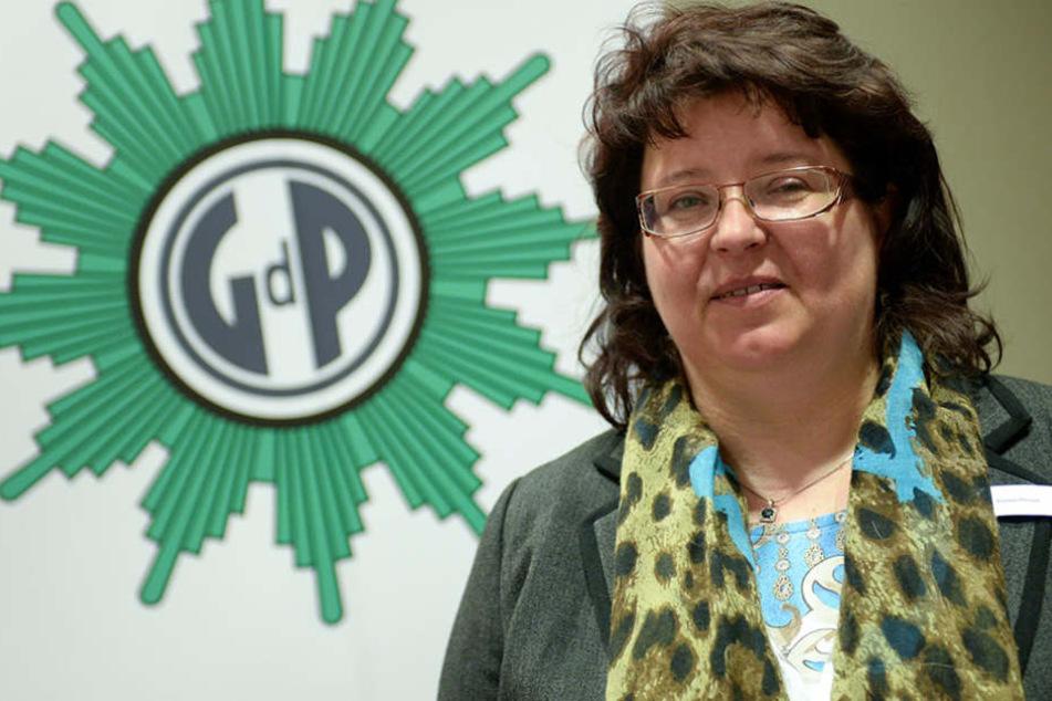Kerstin Philipp vom GdP befürwortet die Einführung des finalen Rettungsschusses.