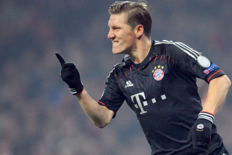 Bastian Schweinsteiger wird ein letztes Mal im Trikot des FC Bayern auflaufen. (Archivbild)