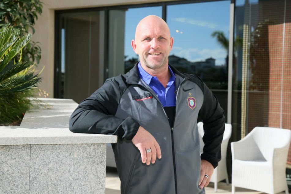 Veilchen-Ex-Kicker Mike Sadlo ist als zweiter Co-Trainer im Gespräch.