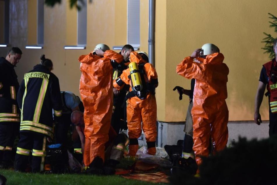 """Islamistisch motivierte Täter seien nach """"Bild-Informationen"""" bereit und auch in der Lage, """"größere Mengen Chemikalien zu beschaffen (Archivbild)."""