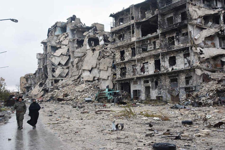 Seit fünfeinhalb Jahren herrscht in Syrien ein erbarmungsloser Bürgerkrieg.