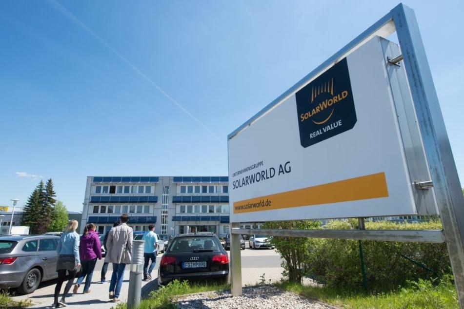 Im Freiberger Solarworld-Werk wurde die Produktion wieder aufgenommen. (Archivbild)