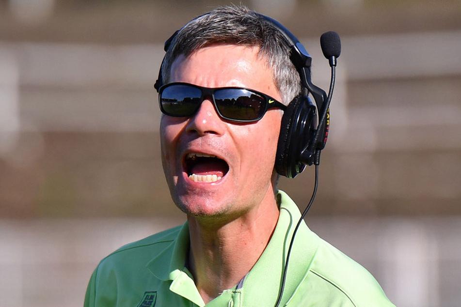 Trainer Ulrich Däuber haderte mit den Nerven seiner Spieler.