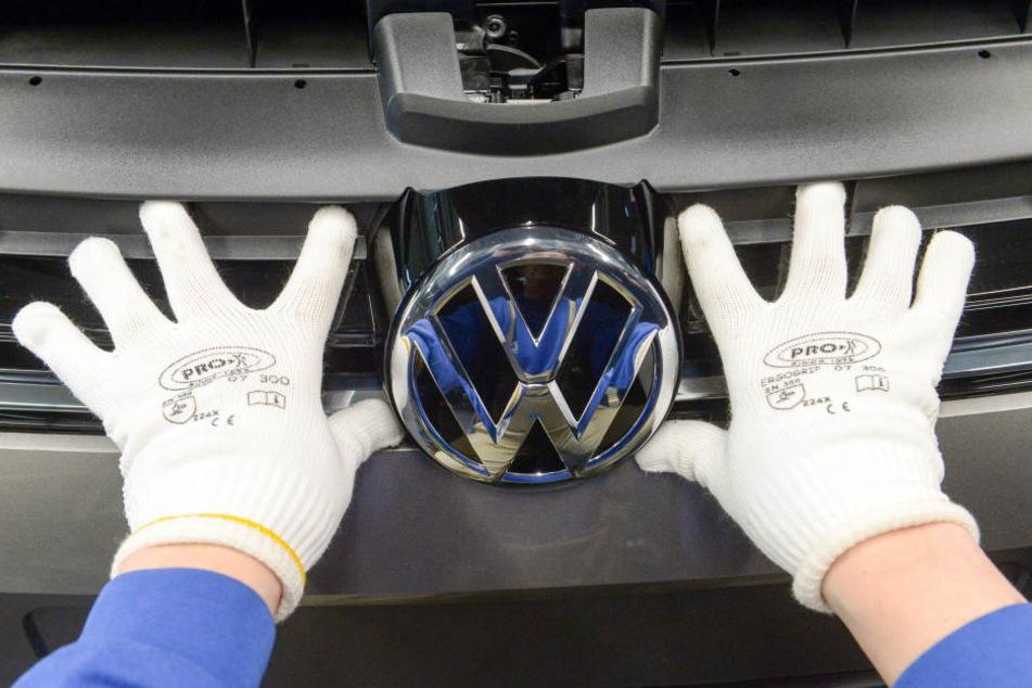 Derzeit beschäftigt VW in Zwickau rund 7700 Mitarbeiter.