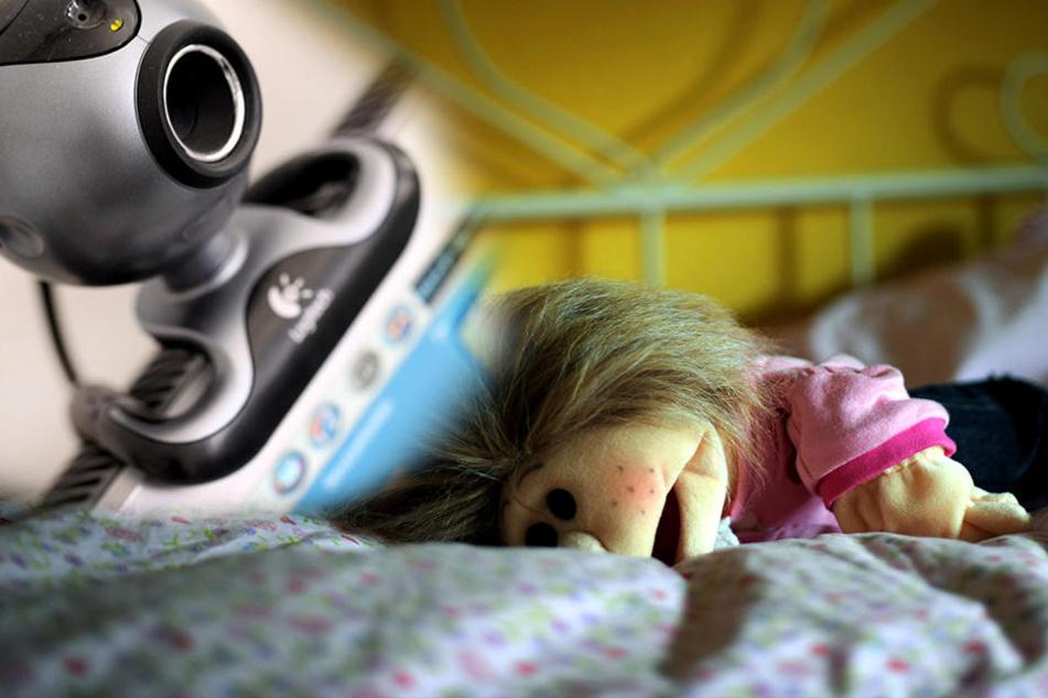 Immer mehr Kinder werden auch per Webcam missbraucht.