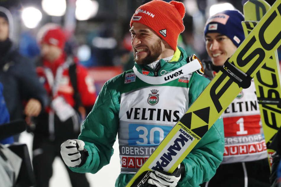 Markus Eisenbichler hat im ersten Springen für eine Überraschung gesorgt. (Archivbild)
