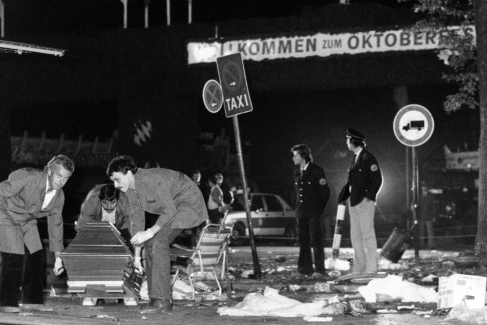 Am 26.9.1980 ereignete sich das blutige Attentat auf dem Oktoberfest.