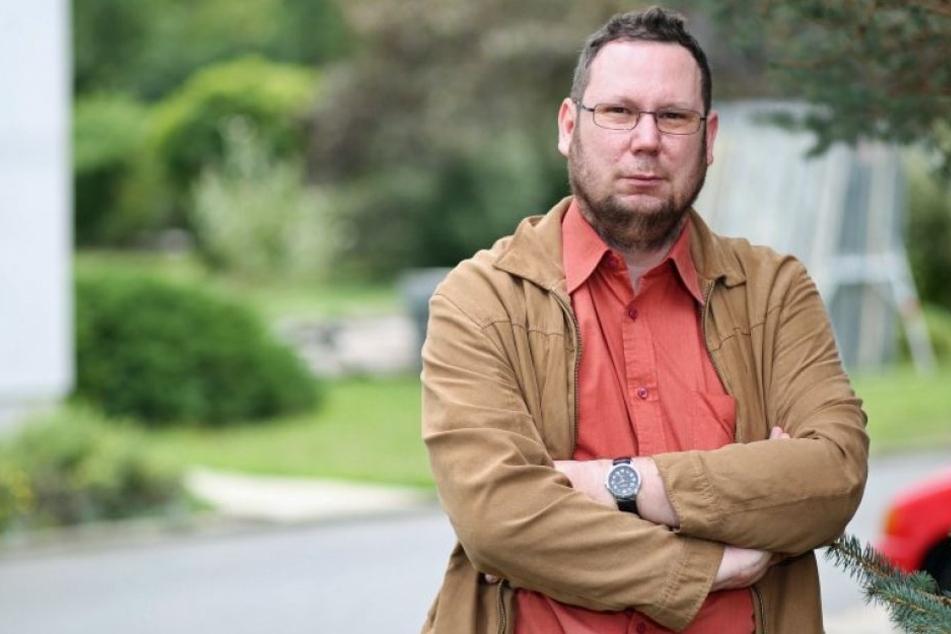 Stadtrat und Mitglied der Partei DIE LINKE, Michael Richter (41), wurde ebenfalls Opfer eines Anschlags.