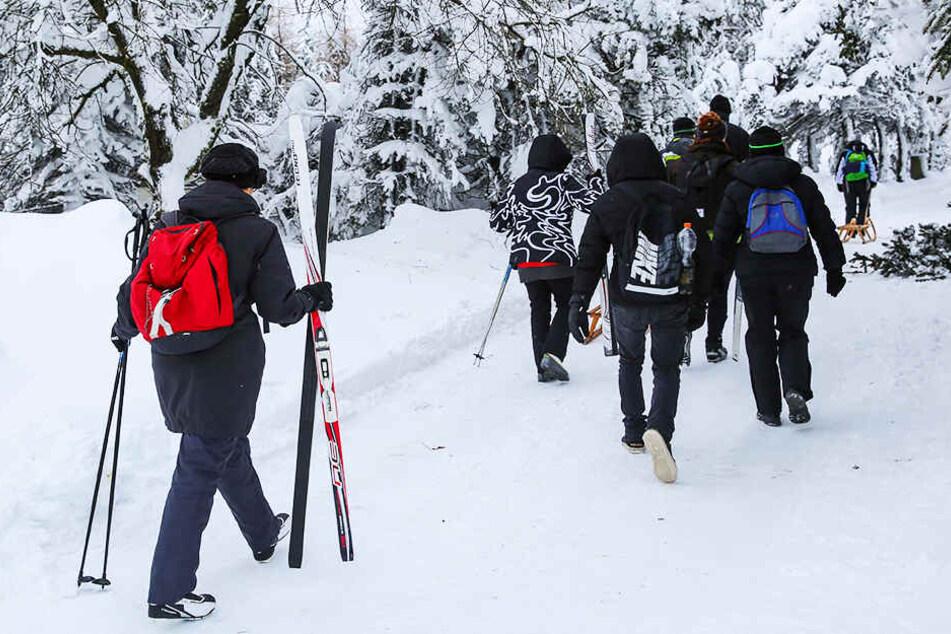 Behörden in Sachsen warnen: Hier kann das Skifahren lebensgefährlich werden!