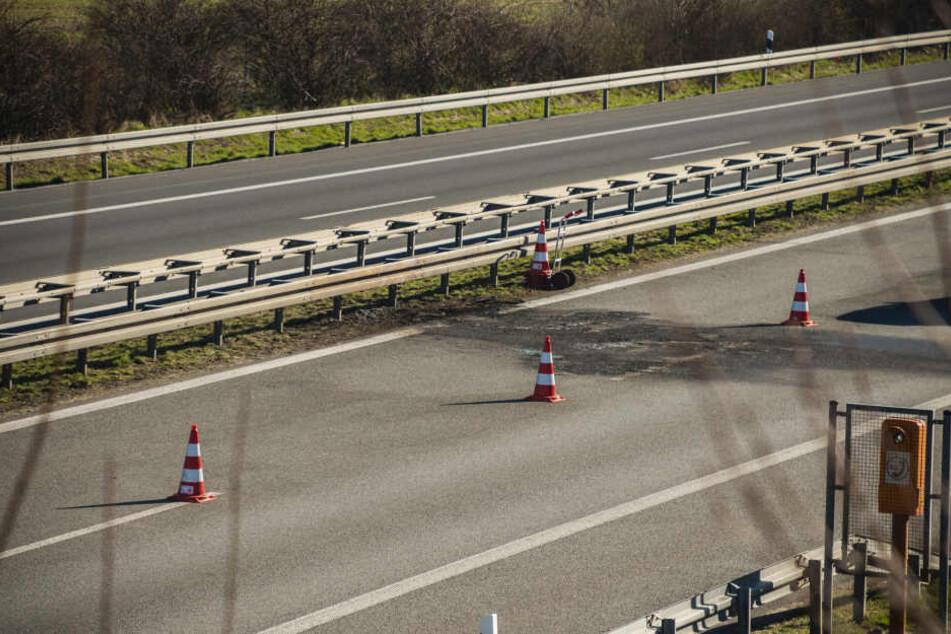 Bis 17 Uhr waren Teile der A4 in Richtung Görlitz nicht befahrbar.