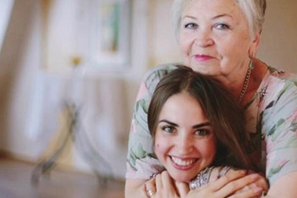Ekaterina Leonova mit Botschaft für ihre geliebte Mama