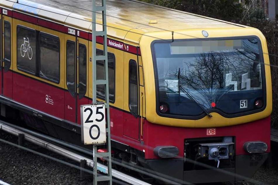 Die S-Bahn musste nach dem Unfall evakuiert werden (Symbolbild).