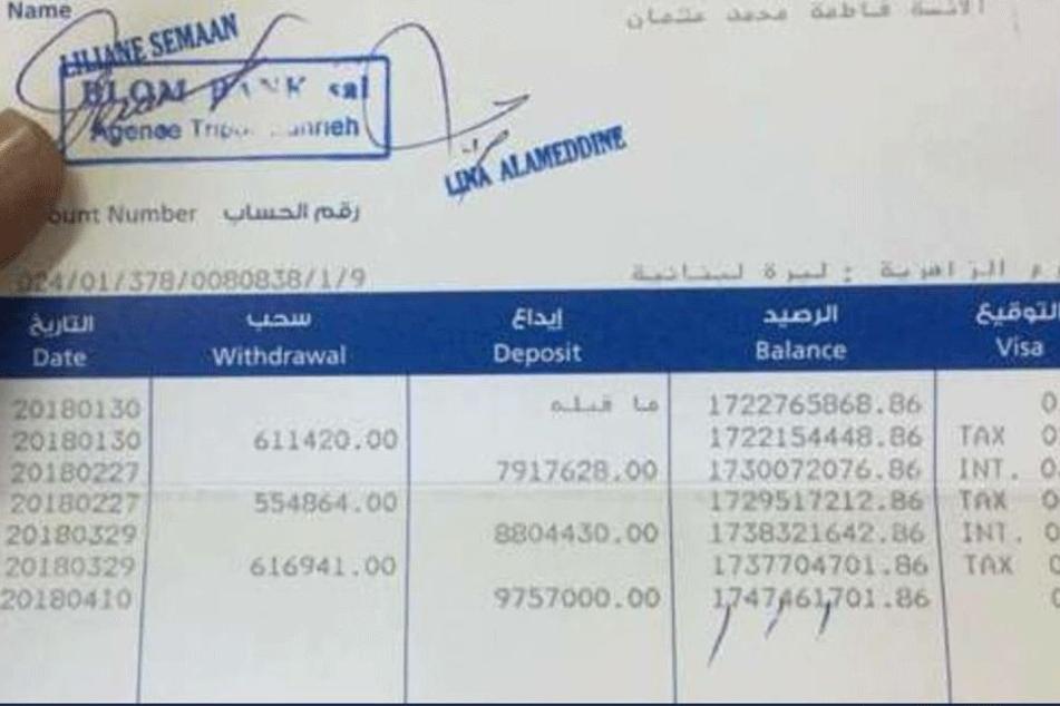 Knapp eine Million Euro hatte die Obdachlose umgerechnet auf ihrem Konto.