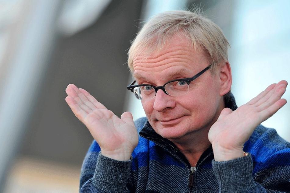 Kabarettist Uwe Steimle (54) versteht die Welt nicht mehr.