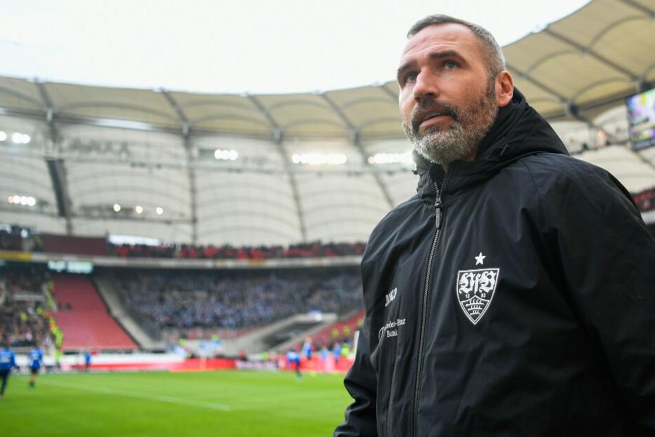 VfB-Trainer Tim Walter rechnet damit, dass der SV Sandhausen wie der Karlsruher SC die Abwehr der Stuttgarter vor eine Probe stellen wird.