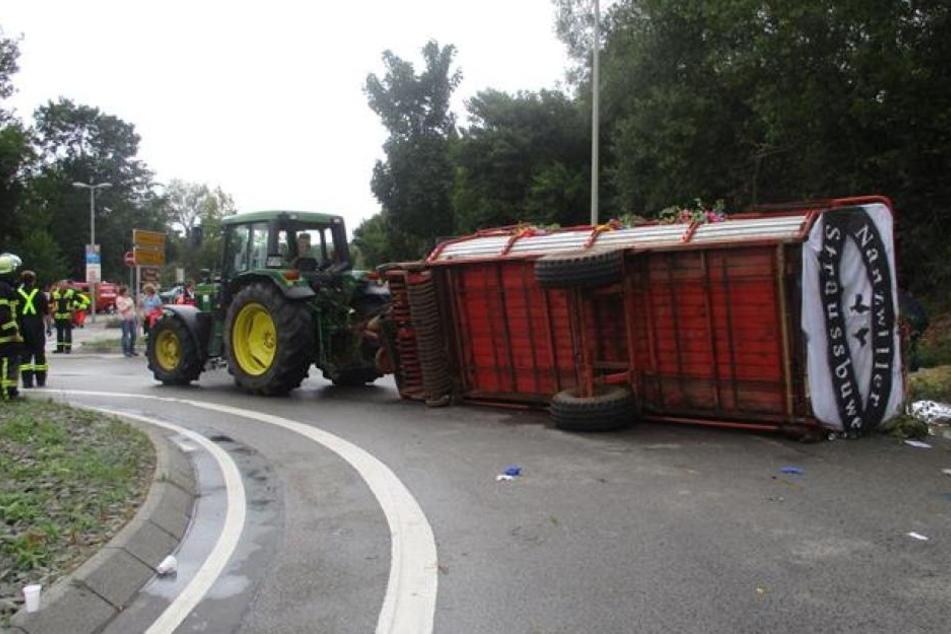 In Rheinland-Pfalz wurden fünf Jugendliche verletzt.