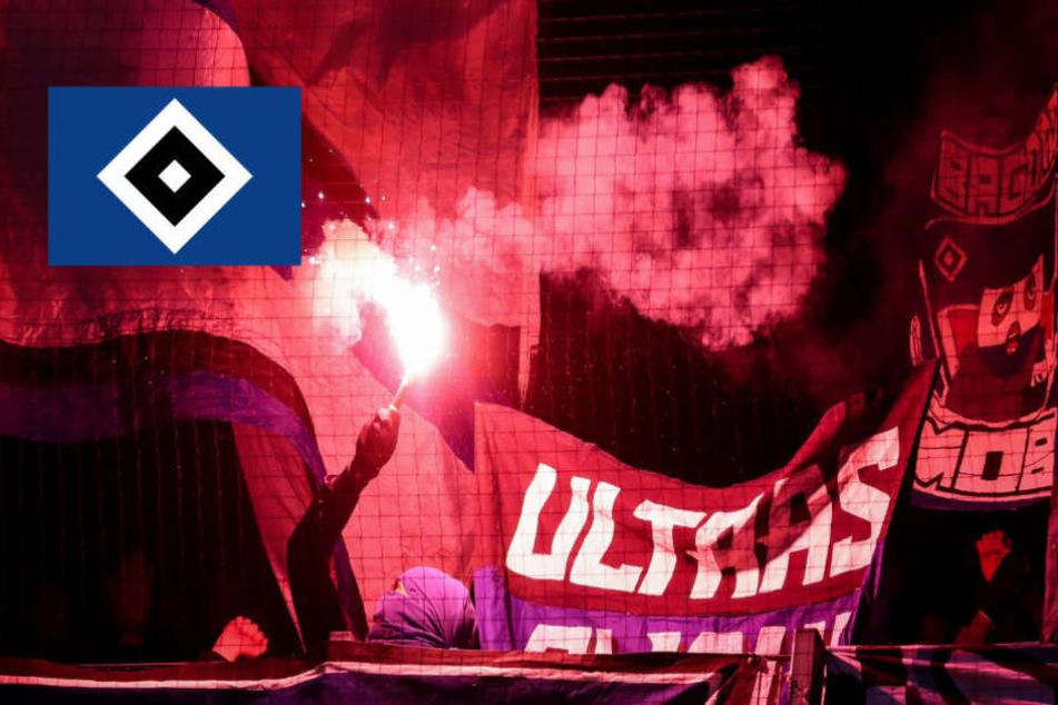 Einige Fans des HSV hatten sich in letzter Zeit nicht immer im Griff. (Symbolbild)