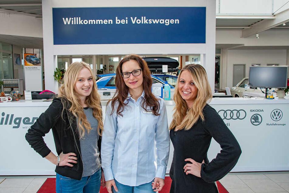 Marina Pilz (18) , Sarah Schachtner (31) und Janine Porst (26) beantwortet all Eure Fragen.